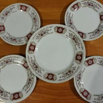 My old  plates - China and Dinnerware