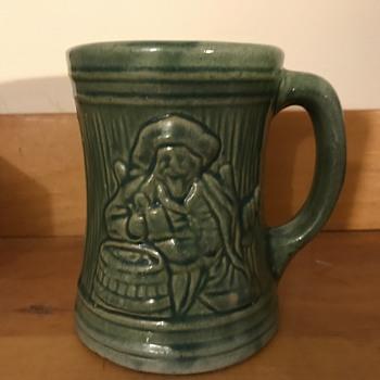 McCoy Buccaneer Mug 1926 - Pottery