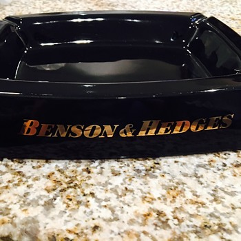 Benson & Hedges early ashtray  - Tobacciana