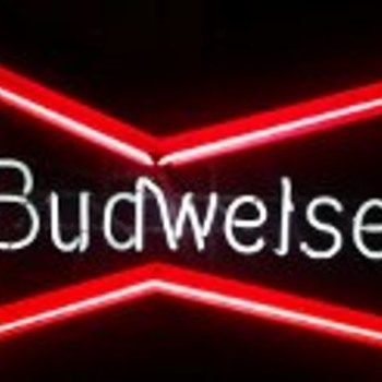 Budweiser Neon Sign  - Signs