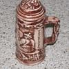 clay mug ?????  anyone seen one of these before