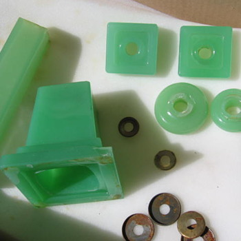 More Houze slag glass parts from dumpickers treasure!!!!!!!!!!!! - Lamps