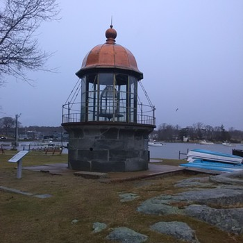 Replica of Minot's Light House Cohasset Mass. - Photographs