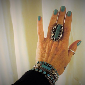 Native American Turquoise and Sterling Silver Jewelry - Fine Jewelry