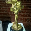 The Veil Dancer Loie Fuller Gilt Statuette or Reproduction Austin sculpture -? Or even a Real Austin