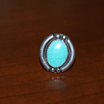 Turquoise Vintage Ring - Fine Jewelry