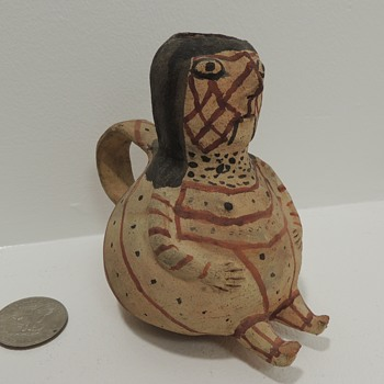 """Mohave Tourist Pottery - """"Effigy"""" Cup - c. 1900 - Pottery"""