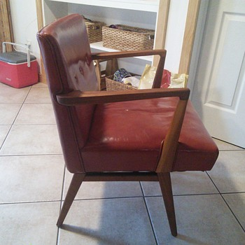 Nicole's new chair - Mid-Century Modern