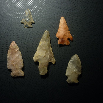 KY arrow points - Native American