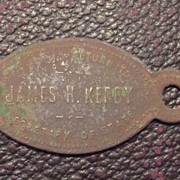 James H. Kerby Arizona Copper 1925+ DRIVERS Licence - Classic Cars