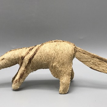 Strange Fiber Art Animal - Folk Art