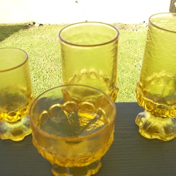Tiffin Franciscan Madeira Cornsilk Yellow - Glassware