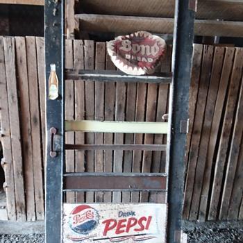 Advertising door Coca Cola Pepsi etc  - Advertising