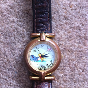 leaves winnie the pooh watch - Wristwatches