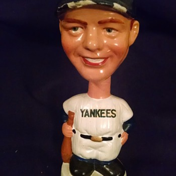 Yankees Mickey Mantle Bobblehead