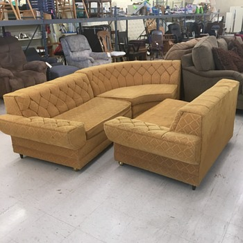 Mid Century Sectional Sofa