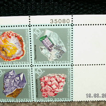 1974 Mineral Heritage 10cents Stamps - Stamps