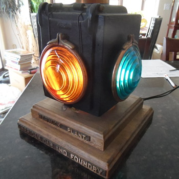 Dads train lantern #465A - Railroadiana