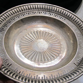 Sterling Silver dish  - Silver