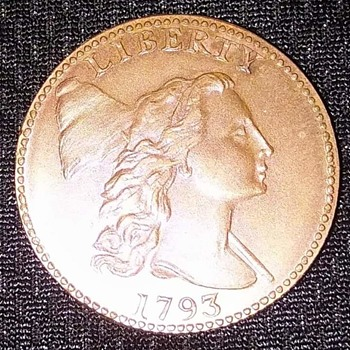 1793 Copper coin from auction - US Coins