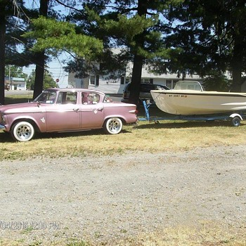 1959 Glasspar Avalon boat