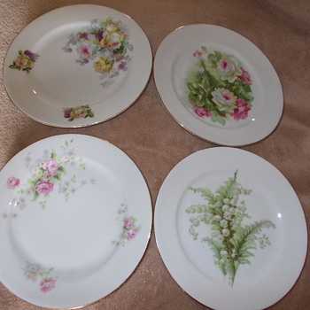 european plates ?practise runs,any help please - China and Dinnerware