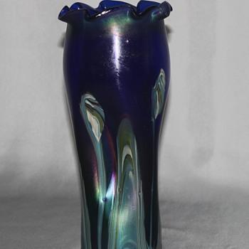 Another Rindscopf vase - Art Glass