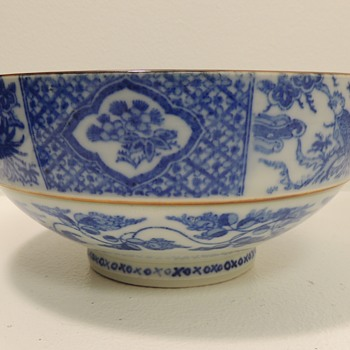 Foot Dragon Bowl - Asian