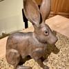 Tom Taber carved jack rabbit