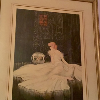 Vintage Courcelles Mediation print - Fine Art