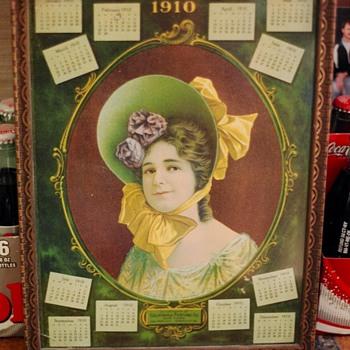 1910 California Perfume Calender  - Advertising