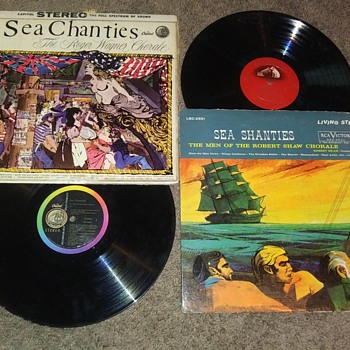 SEA CHANTIES...ROBERT SHAW AND ROGER WAGNER - Records