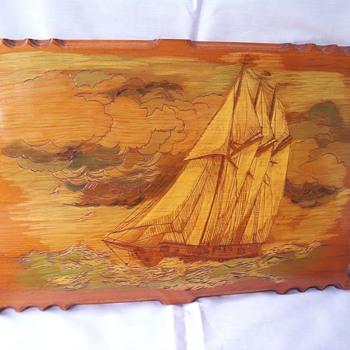 L. Smith Sailboat Wall Art - Folk Art