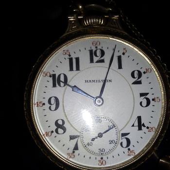 Hamilton 1932 21J 922L Pocket Watch - Pocket Watches