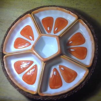 Lazy Susan Pottery Dish - Pottery