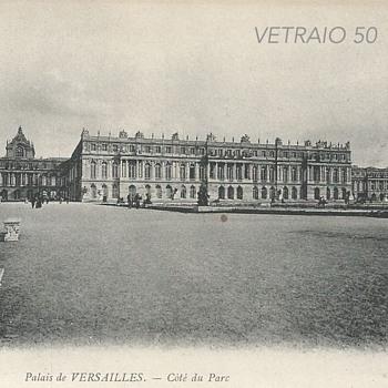 PALAIS DE VERSAILLES – CÔTÉ DU PARC  - Postcards