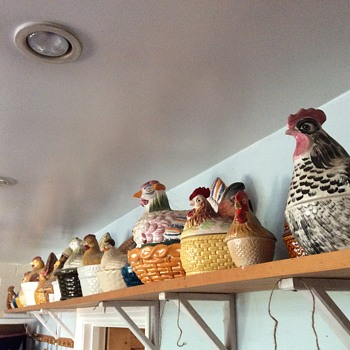 Some of my egg hen collection - Kitchen