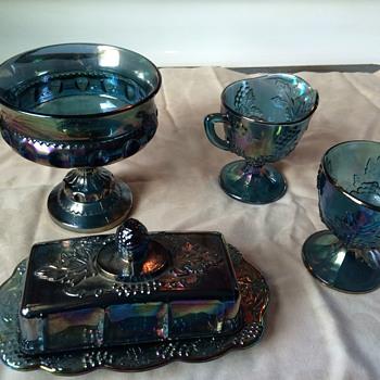 Carnival glass?? - Glassware
