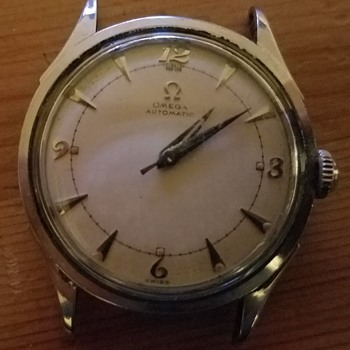 1950 Omega Automatic Bumper Watch  - Wristwatches