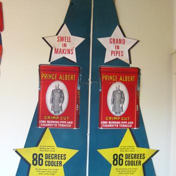 Prince Albert Advertising Displays - Signs