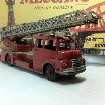 Antique Dinky Firefighters - Model Cars