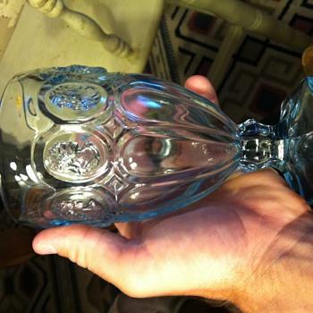 Fostoria Glass mystery women - Glassware