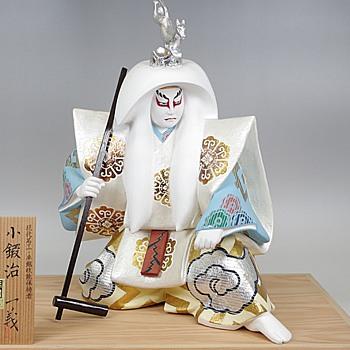 Kabuki Theme Japanese Hakata Doll :- Kokaji - Dolls