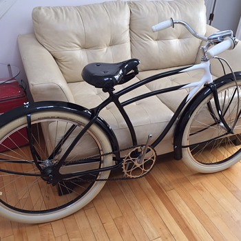 1939 Sears Collegiate (Schwinn built) Skiptooth - Sporting Goods