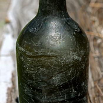 ~~~Old 1770's Black Glass Bottle~~~ - Bottles