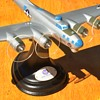 Vintage WW2 Boeing B-17G PFF model from Synthane-Taylor Corp.