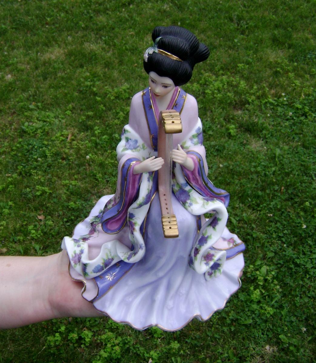 Harp princess by lena liu the danbury mint collectors for The danbury
