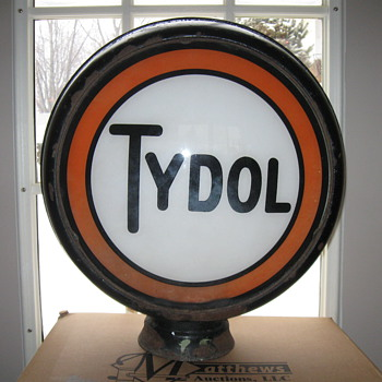 TYDOL Gas Pump GLOBE 1930's - Petroliana