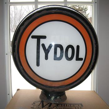 TYDOL Gas Pump GLOBE 1930's - Petroliana
