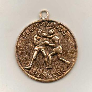 1966 - Olumpic Boxing Pendant - Bangkok